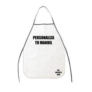 Personaliza tu Mandil